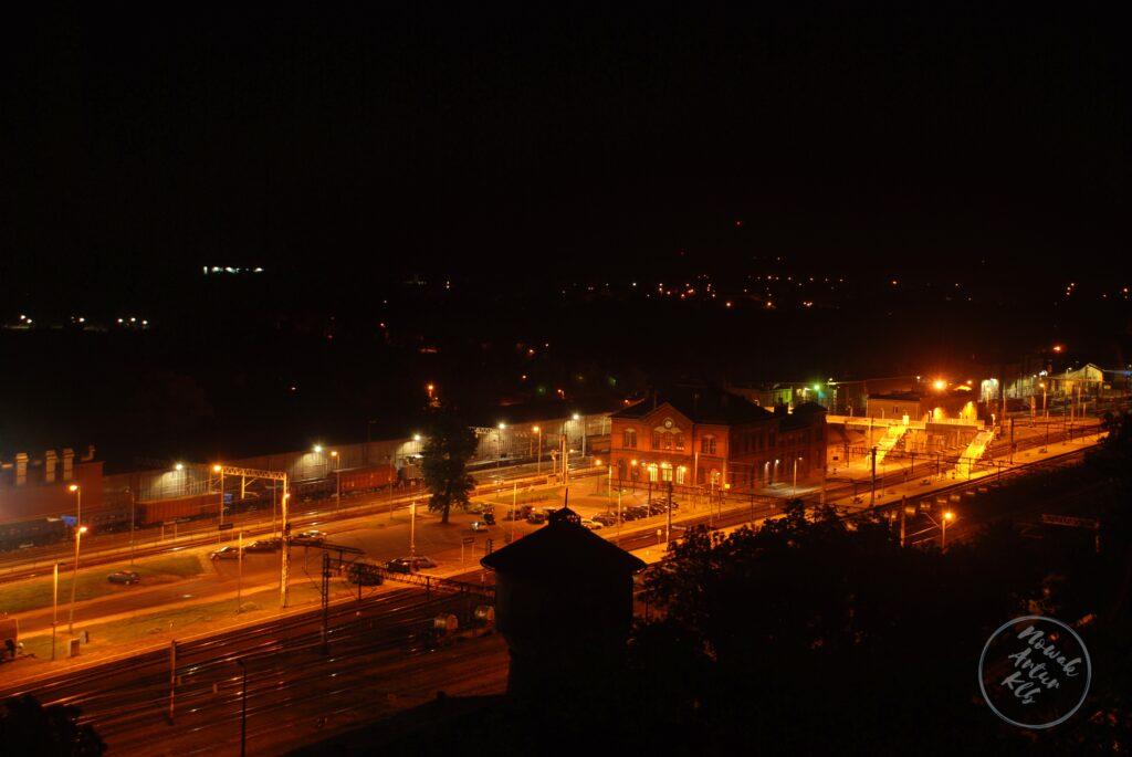 Zanim wstanie dzień, dworzec PKP Kluczbork